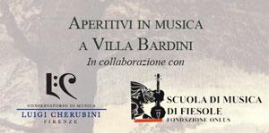Aperitivi in Musica a Villa Bardini. Autunno 20132